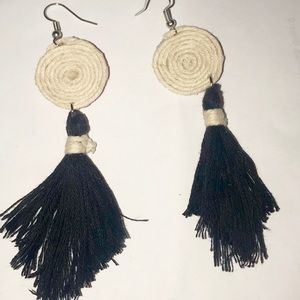 Handmade Tassel Earrings!